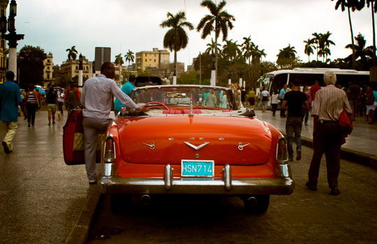 Havana City - Old Car