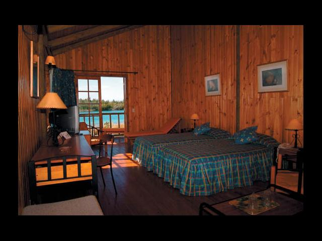 Cayo Largo - cabin lodge interior cayo largo