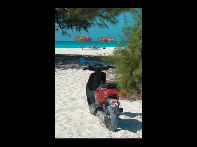 Cayo Largo - minibike rental in cayo largo