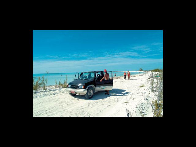 Cayo Largo - jeep rental in cayo largo