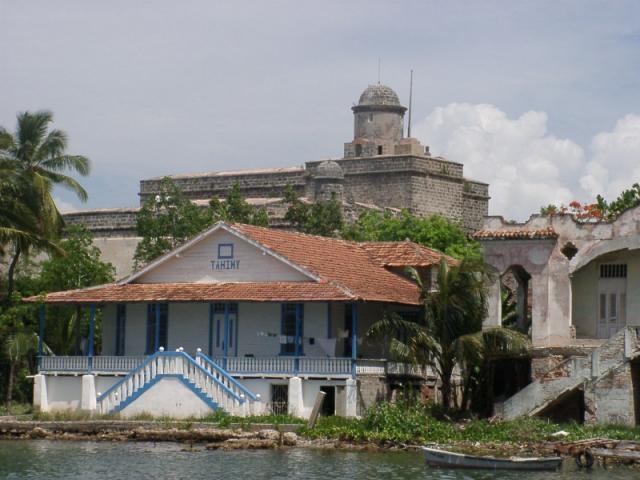 Cienfuegos - Castillo de Jagua  en la Bahia