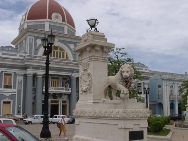 Cienfuegos - leones Parque Marti