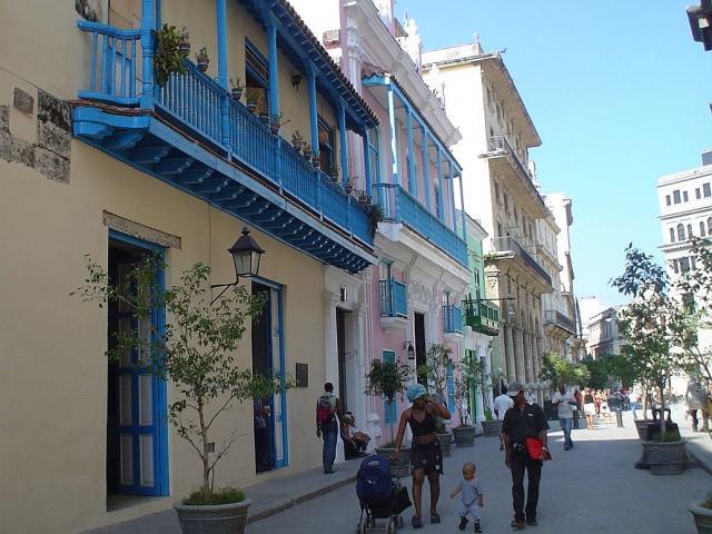 Havana City - Balcones Calle Oficios