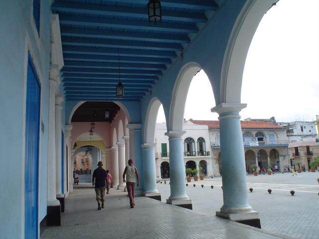 Havana City - Portales de la Plaza Vieja