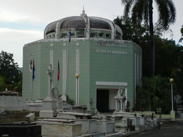 Santiago de Cuba - Panteon de la Fuerzas Armadas Revolucionarias