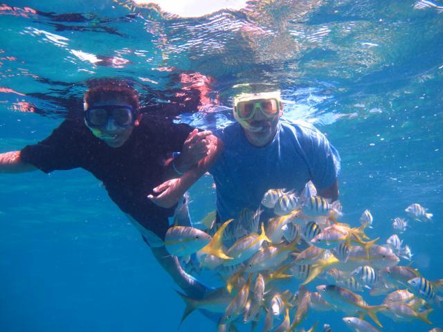 Varadero Beach - snorkeling varadero familiy