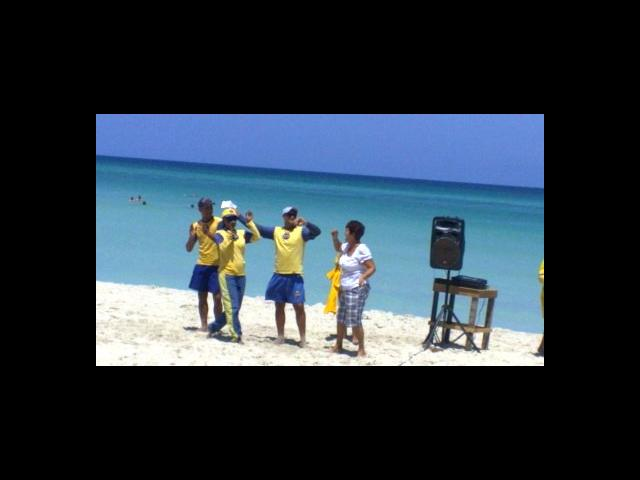 Varadero Beach - entertainment team Iberostar tainos