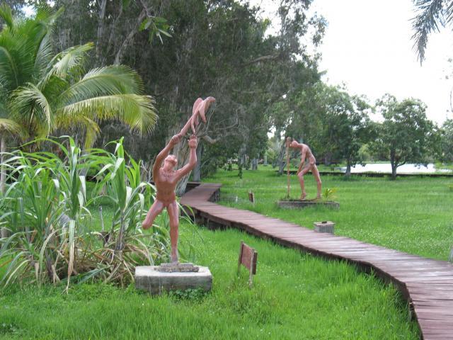 Zapata Swamp - Aldea aborigen en Guama
